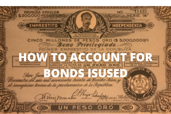 How to Account for Bonds Issued -www.accacoach.com