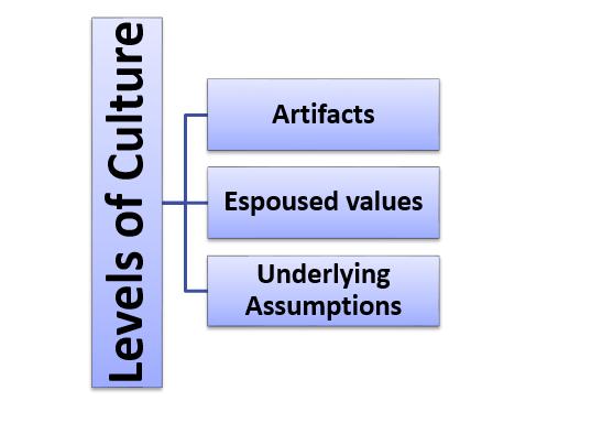 Schein - Three levels of Culture